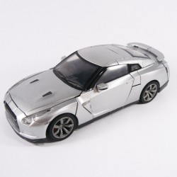 A-01 Alternity Convoy Ultimate Metal Silver Alt Mode