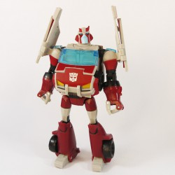 Animated Deluxe Autobot Ratchet Robot Mode