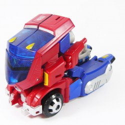 Animated Deluxe Cybertron Mode Optimus Prime Alt Mode