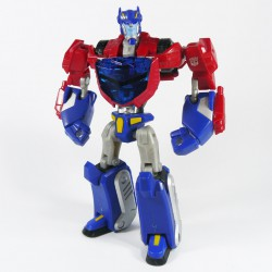 Animated Deluxe Cybertron Mode Optimus Prime