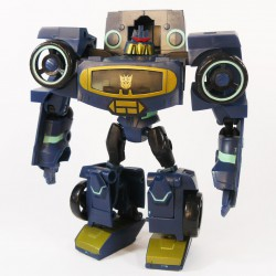 Animated Deluxe Soundwave Robot Mode