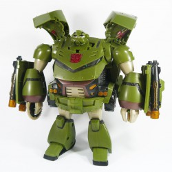 Animated Leader Bulkhead Robot Mode