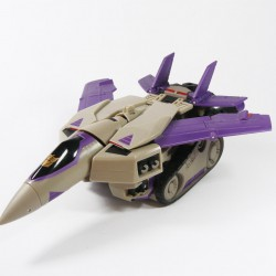 Animated Voyager Blitzwing Alt Mode