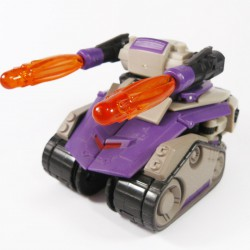 Animated Voyager Blitzwing Tank Mode
