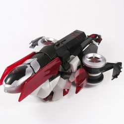 Animated Voyager Cybertron Mode Megatron Alt Mode