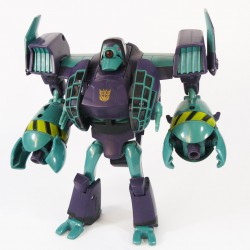 Animated Voyager Lugnut Robot Mode
