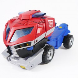 Animated Voyager Optimus Prime Alt Mode