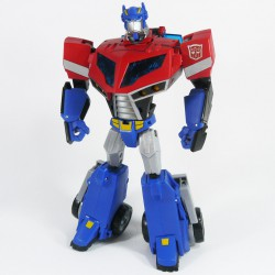 Animated Voyager Optimus Prime