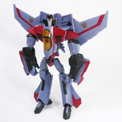 Animated Voyager Starscream Robot Mode