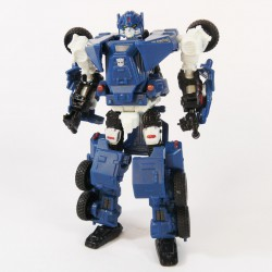 Hunt for the Decepticons Scout Breacher Robot Mode