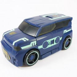 Animated Deluxe Soundwave Alt Mode